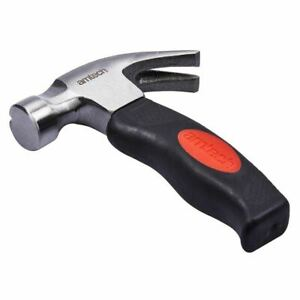 10oz Magnetic Stubby Claw Hammer Comfortable Cushion Grip Heat Treated Head