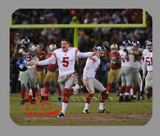 Item#3893 Steve Weatherford New York Giants Facsimile Autographed Mouse Pad
