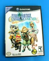 Final Fantasy: Crystal Chronicles Nintendo GameCube, 2004 No Manual - Tested