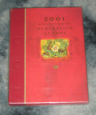 2001 Australia Post Year Album of Mint Stamps Complete and Nice