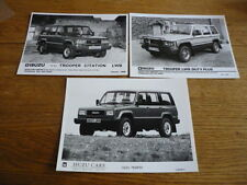 ISUZU Trooper Press fotografie x 3
