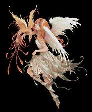 PHOENIX Fairy contato CROSS STITCH KIT Fairies / FANTASY libero 1st Class Recorded