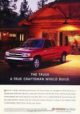 1997 Toyota Tacoma Truck - Original Advertisement Print Art Car Ad J621