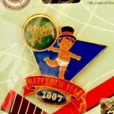 2007 baby Happy New Year Dallas Stars hockey lapel pin NHL
