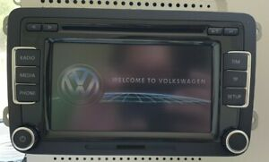 VW RCD 510 6 CD Changer Radio SD With Code Golf Caddy T5 Passat Transporter Eos