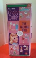Chatty Cathy Doll 1998 Mattel Classics Collectible Talking Doll 19225 Box Only