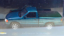 Chevrolet S-10 Dunkeltürkis Año Fabricación 1995 Escala 1:43 Von Atlas