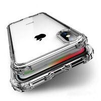 Transparent Coquille Antichoc Silicone Case Cover For iPhone 11 XS Max 8 7 6