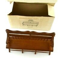 Concord Miniatures Wooden Taiwan Vintage 1:16 Scale Furniture Doll House Cabinet