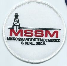 MSSM MICRO SMART SYSTEM DE MEXICO S. DER.L DE C.V. oil field patch 4 dia #1649
