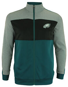 OuterStuff NFL Youth Performance Full Zip Stripe Jacket , Philadelphia Eagles