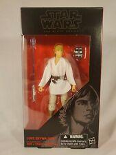 Hasbro Star Wars Black Series 6 Inch #21 Luke Skywalker NIB Action Figure