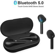 RocketUp True Wireless Earbuds Bluetooth 5.0 w/ Microphone, Touch Control,
