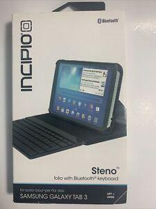 NEW Sealed Incipio Steno Folio Case Bluetooth Keyboard Samsung Galaxy TAB 3 7.0