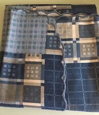 Copriletto in Cotone, Singolo, 170 x 270, colore blu, estivo