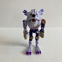 Bandai 1999 Digimon Digivolving Garurumon Weregarurumon Wolf Action Figure RARE