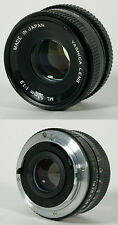YASHICA 50MM F/1.9 LENS WITH FRONT CAP