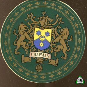 English Heraldic Coaster: Chapman