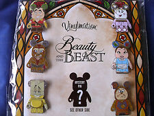 Disney * VINYLMATION - BEAUTY & THE BEAST * Retired 7-Pin Booster Set w/ Chaser