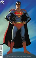 Superman Comic Issue 12 Limited Variant Modern Age First Print 2019 Bendis Reis