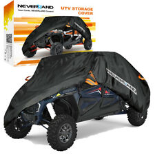 Double Row Seat Cover Utility Vehicle Side-by-Side For Polaris Rzr Xp 4 1000 Eps