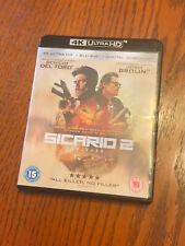 Sicario 2 4K Blu Ray