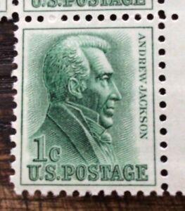 USA 🇺🇸 STAMPs Scott #1225 1 CENT ANDREW JACKSON, MNH