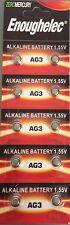 10X AG3 LR736 RW87 LR41 GP192 V3GA Alkaline Battery Cell Button Batteries 2022