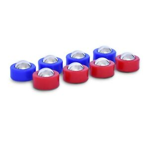 Shuffle Board Tabletop Game Mini Roller Pucks Replacement Set of 8 Roller Balls