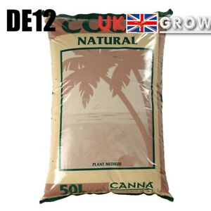 Canna Coco Natural Coir 50L Hydroponic Growing Media Soil