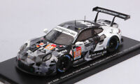 Model Car Scale 1:43 Spark Model Porsche 911 Rsr N.88 vehicles diecast