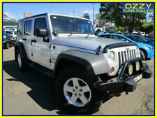 2009 Jeep Wrangler Unlimited JK MY08 Sport (4x4) Silver Automatic 4sp A Softtop