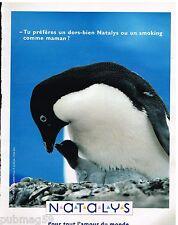 Publicité Advertising 1992 Les Vetements pour enfants Natalys
