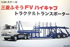 Fujimi Car Hauler Transporter & Truck 1:24 Scale Model Kit   NEW