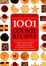 New 1995 1001 COOKIE RECIPES By Gregg Gillespie Perfect Holiday Cookie Cookbook