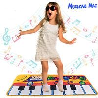 New Musical Music Kid Piano Play Baby Mat Animal Educational Toy Soft Kick