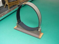 """Wood Mount and Metal Strap for 1940's 15"""" TV Picture Tube"""