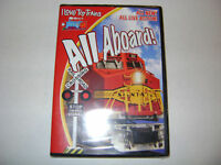 TM I Love Toy Trains All Aboard DVD