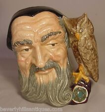 Large Royal Doulton Toby Jug Merlin D6529 1959