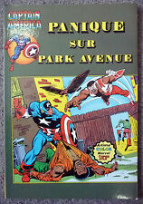 captain america 11 panique sur park avenue    artima color 1980