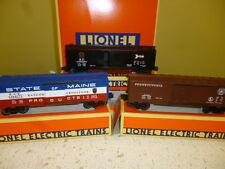 LIONEL 19272 6464  BOXCAR SERIES 4 SET - 0/027 NEW IN BOX- S1