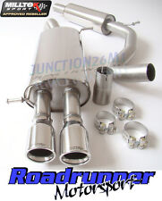 Milltek SSXVW109 Polo GTI 9N 1.8 Exhaust System Stainless Cat Back Resonated