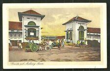 Malang Market Pasar People Java Indonesia 1925