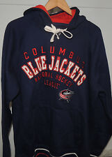NHL G-III Sports by Carl Banks Columbus Blue Jackets Hooded Sweatshirt Mens MD