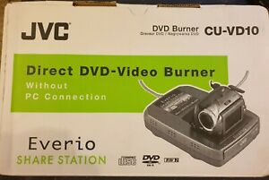 Direct Camcorder To dvd No computer Needed JVC CU-VD10 Share Centre