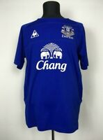 EVERTON 2010/2011 HOME FOOTBALL SHIRT TOFFEES SOCCER JERSEY LE COQ SPORTIF