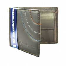 Lambretta Wallet - Lambretta Men's Fold Over Leather Wallet Brown