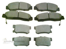 for HONDA LEGEND 3.2 V6 91-96 FRONT & REAR BRAKE PADS NEW