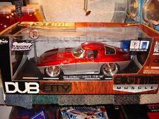 1/18 Jada Dub City 1963 Chevrolet Corvette Sting Ray