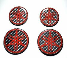 Yamaha Stickers for helmet tank RED & Carbon Fiber 5 pcs YZF R3 R1S FJR1300 FJ